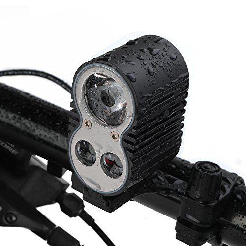 Cheap Bike Headlight Gvdv 1600 Lumens Bike Light With Rechargeable