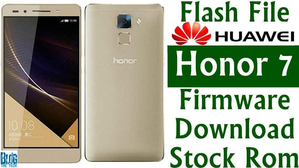 Flash File] Huawei Honor 7 PLK-L01 B390 Firmware Download