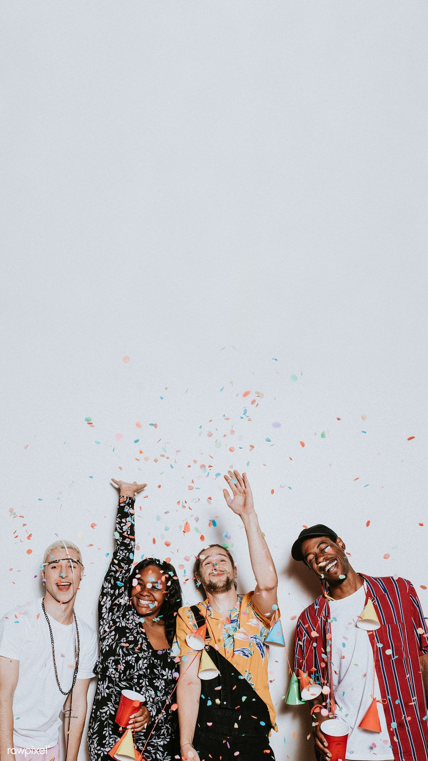 A group of diverse friends celebrating at a party | premium image by rawpixel.com / Felix