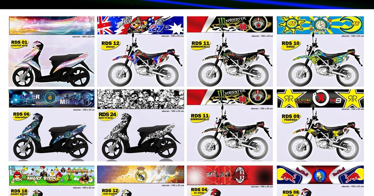 26 Foto Stiker Keren Untuk Motor 33 Info Baru Stiker Motor Cross Download Stickerroadrace Instagram Photo And Video On Instagram Di 2020 Stiker Vinyl Serat Karbon