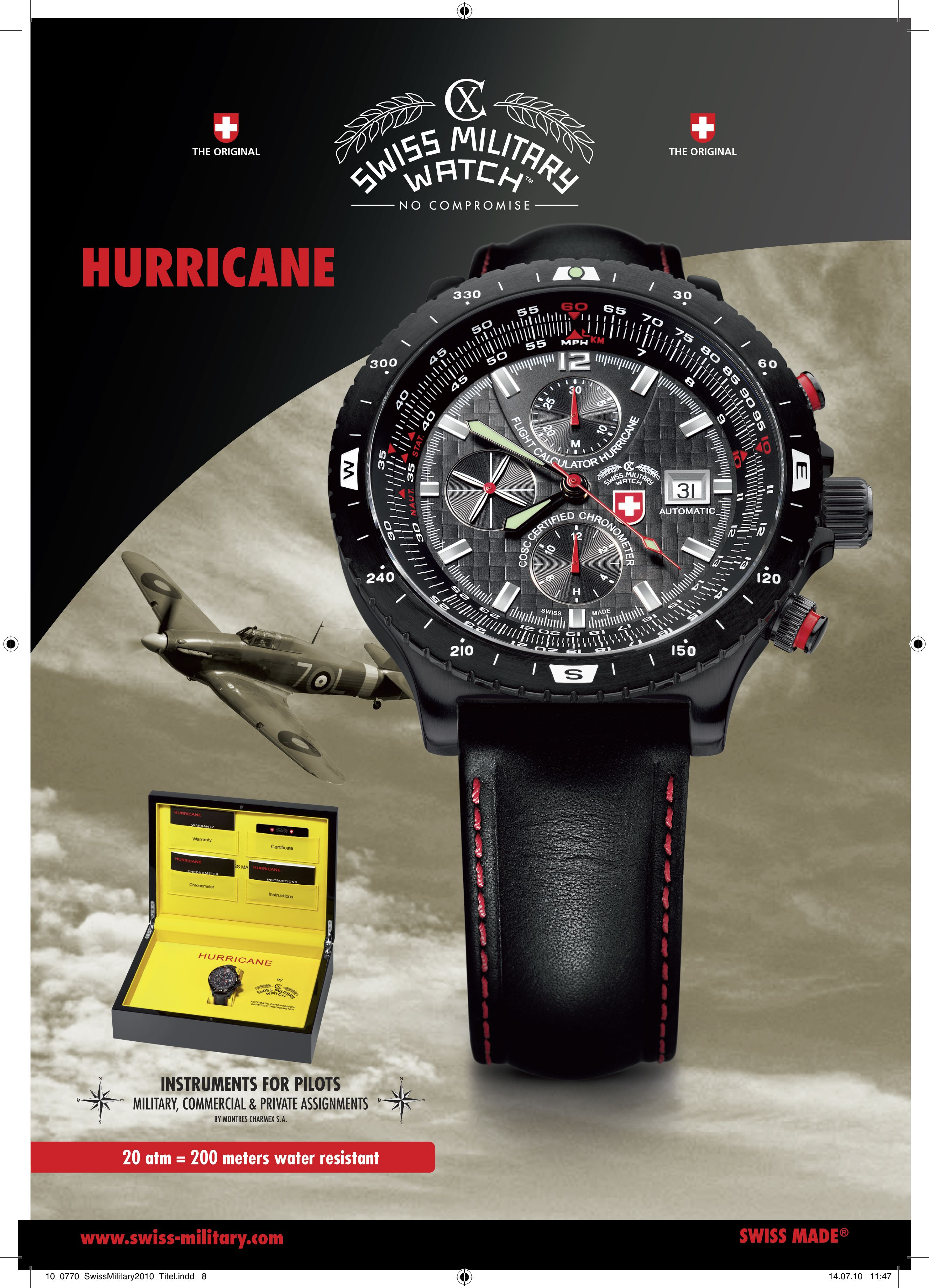 Pin by Charmex North America on PILOT WATCHES by CX SWISS MILITARY ... 4fb30940d23