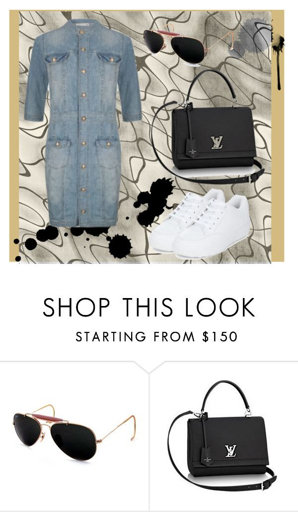 """""""Casual Style"""" by kendall-jenner-style ❤ liked on Polyvore featuring SuperTrash, Ray-Ban and New Look"""