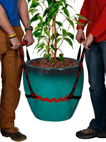 The Pot Lifter makes it easier to move heavy potted plants. via Gardener's Supply Company