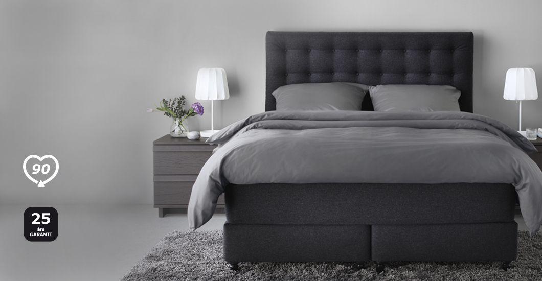 IKEA VALLAVIK kontinentalsäng grå new apt Pinterest Catalog - küche neu bekleben