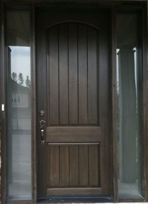 Ordinaire Rustic Fiberglass Entry Doors