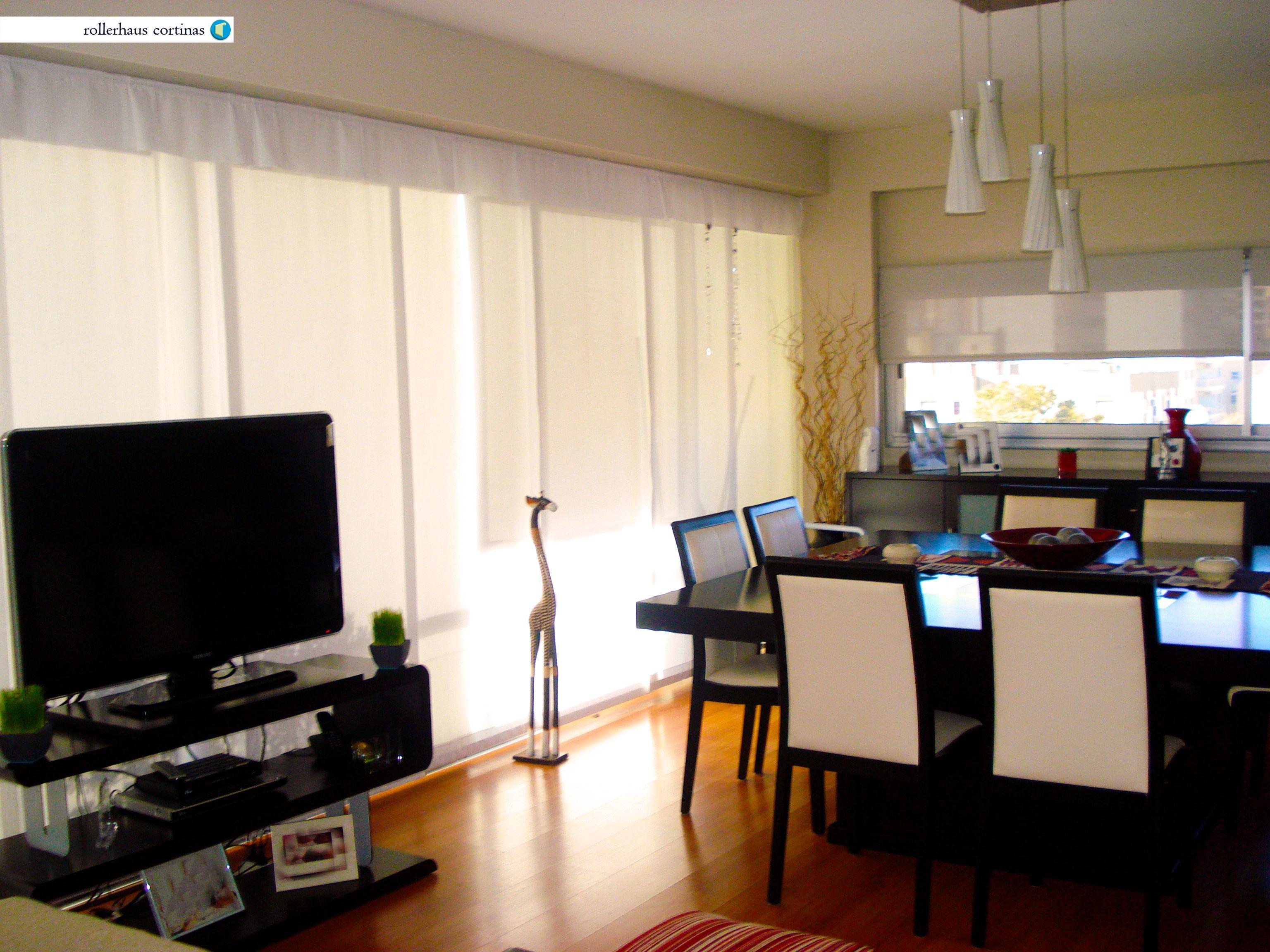 Pin de rollerhaus cortinas en paneles orientales comedores living comedor y panel - Cortinas para comedores ...