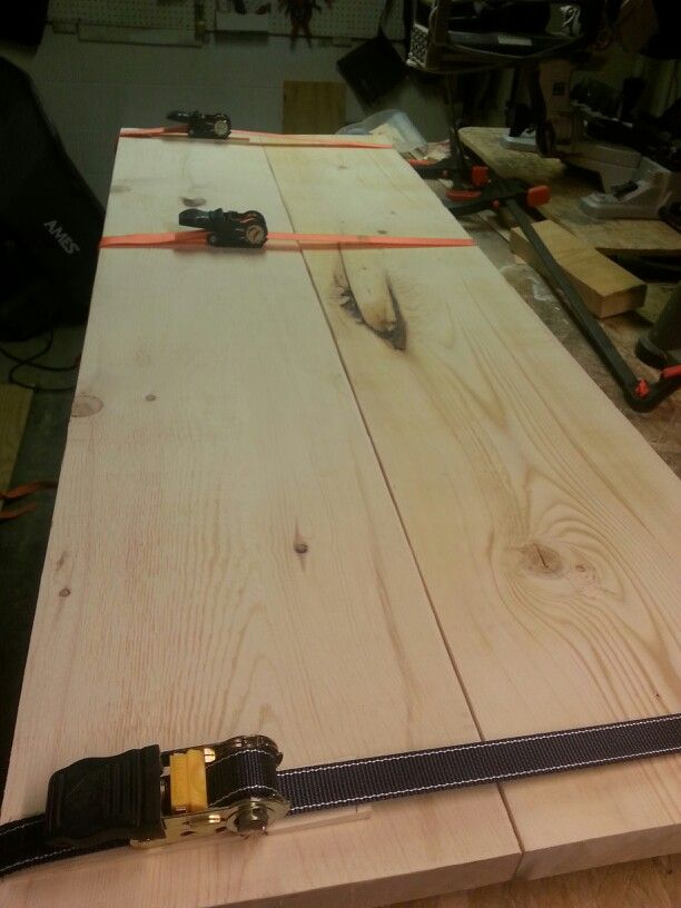 Out Of Clamps For Your Wood Project Use Ratcheting Tie Straps Instead Wood Diy Ratchet Straps Woodworking Tips