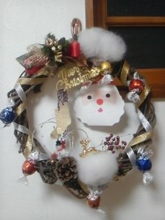 Handemade Christmas wreath