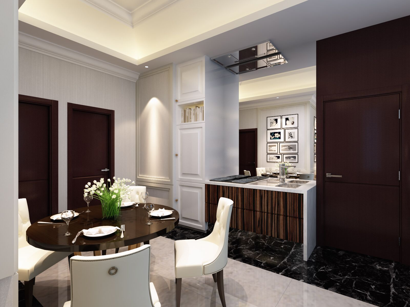 2 Bedroom Apartment Interior Design show unit 2 bedroom apartment panbil apartment @batam indonesia