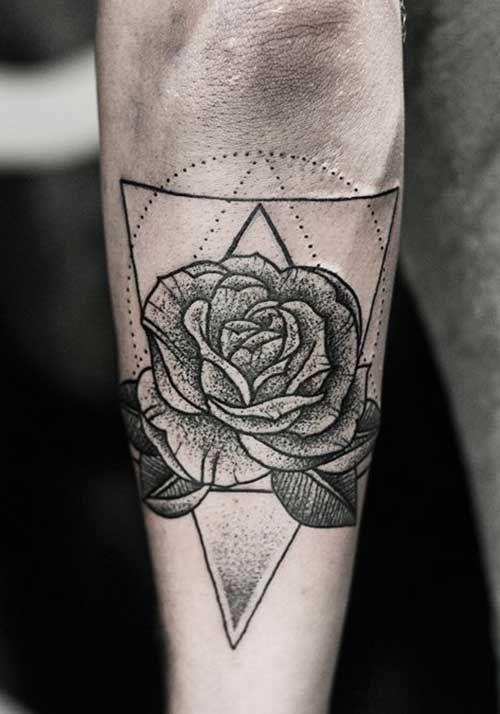 Geometric Flower Tattoo: Geometric Flower Tattoos - Google Search