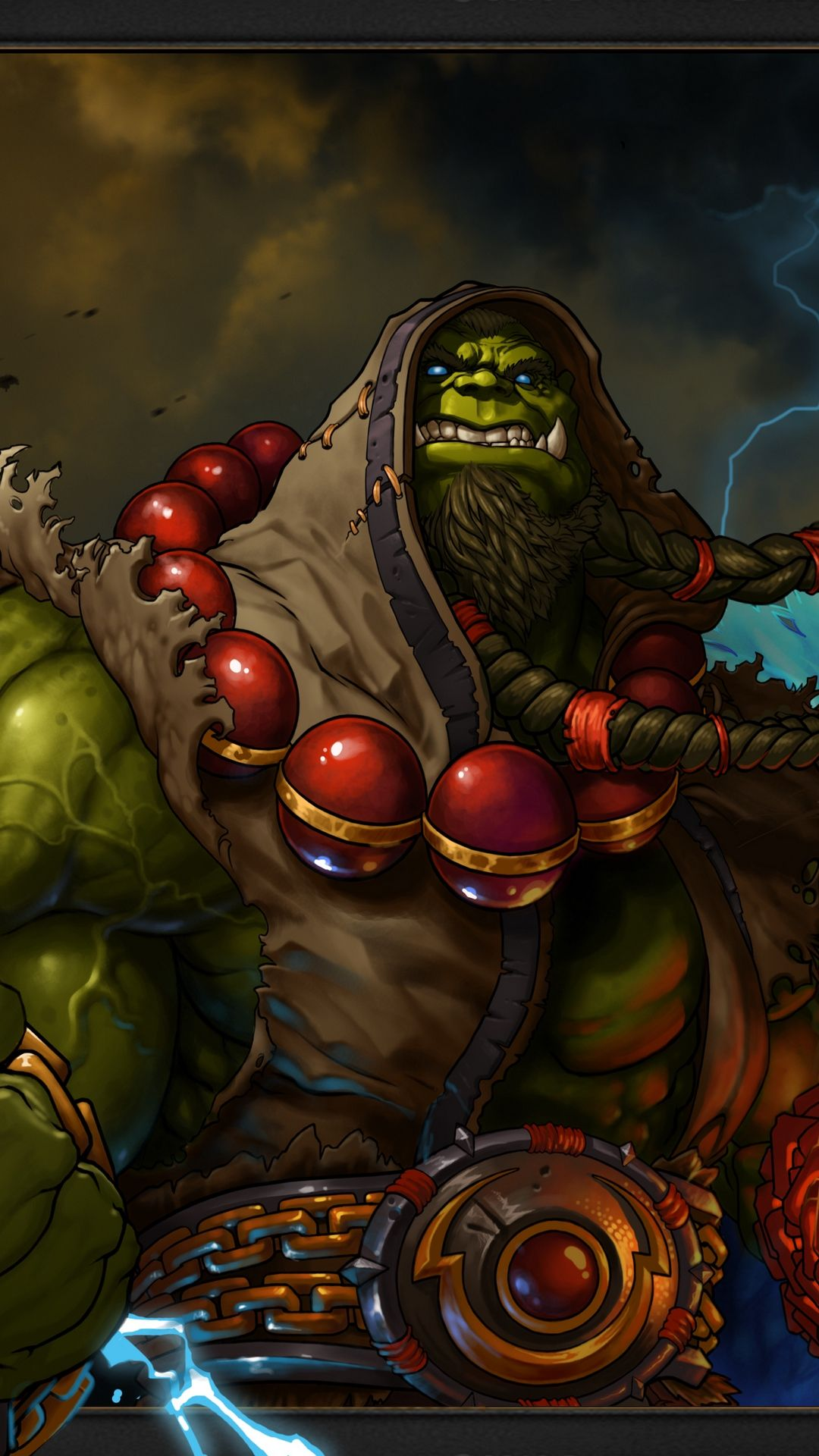 World Of Warcraft Thrall Shaman Test1 Games Wallpaper