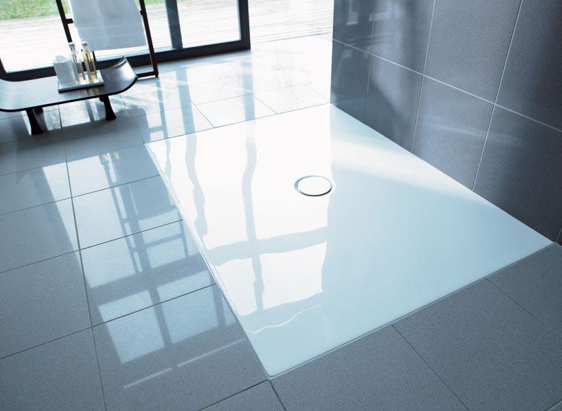 Flush Fitting Shower Tray Duraplan Duravit Doccia A Pavimento Arredamento Bagno Doccia