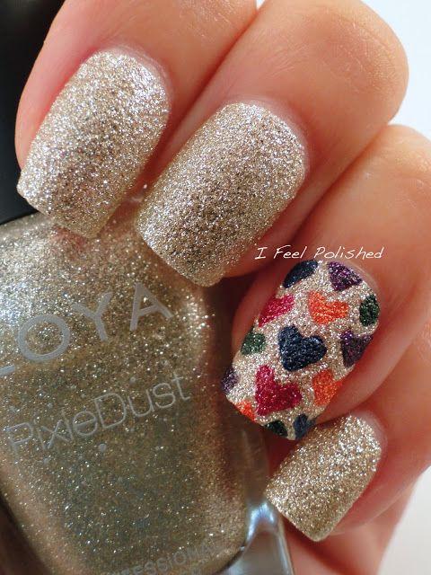 Zoya Pixie Dust Nail Art | Nail Art | Pinterest | Pixies, Nail nail ...