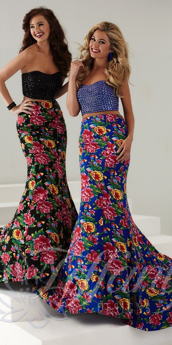 Long Floral Prom Dress 16163. Colors  Royal Garden 4a5ba5c2cf0