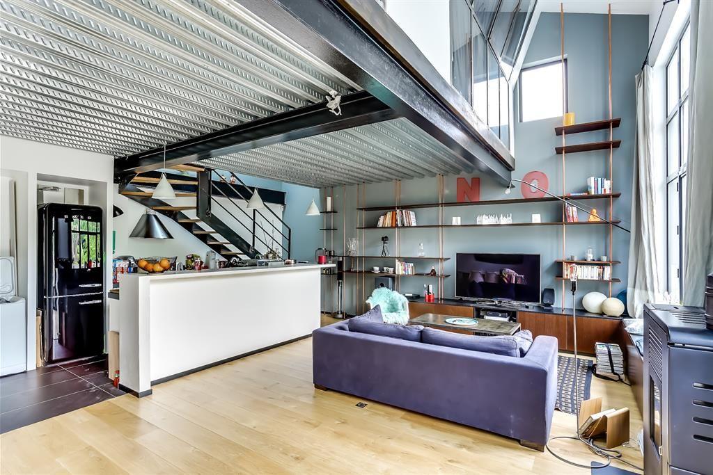 Vivre Dans Un Loft living area in a loft | pièce à vivre dans un loft | dream house