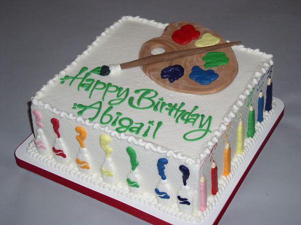 Cake Artis : artist cake. Love this one avery s many birthdays ...
