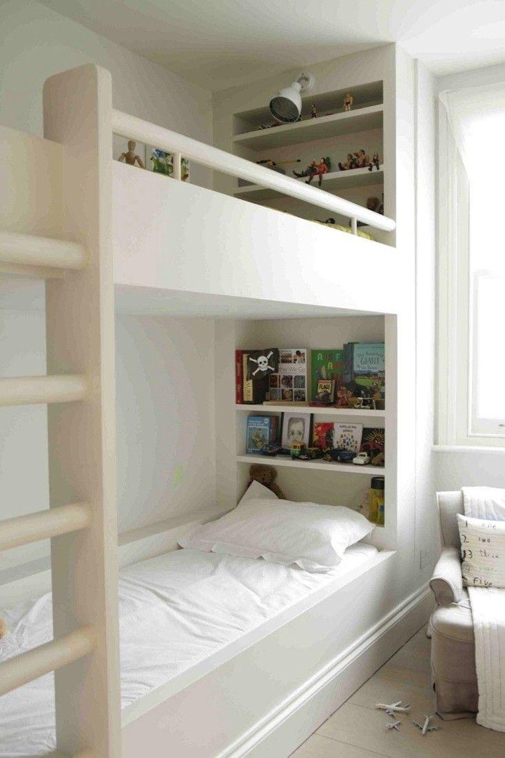 Image Result For Built In Bunk Bed Bookshelf