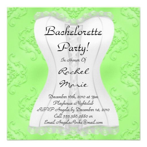 Super Cute Bachelorette Party Card Bachelorette parties, Shops and - best of invitation party card