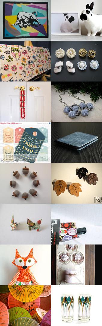 Holiday gifts for anyone by Pleteni Salovi on Etsy--Pinned with TreasuryPin.com