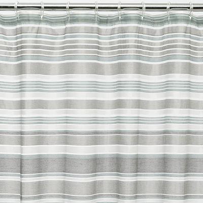 Home Classics Glacier Shower Curtain Guest Bathroom Fabric