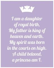 Daughter Of A King Quotes Am A Daughter Of The King Words Of