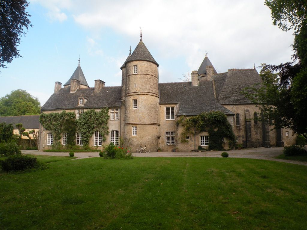 Château de Flottemenville ~ Normandy ~ France ~ A great place to stay about 30 minutes from Omaha Beach near Valognes.