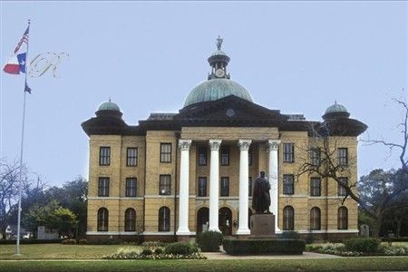 Old courthouse building in Richmond Texas