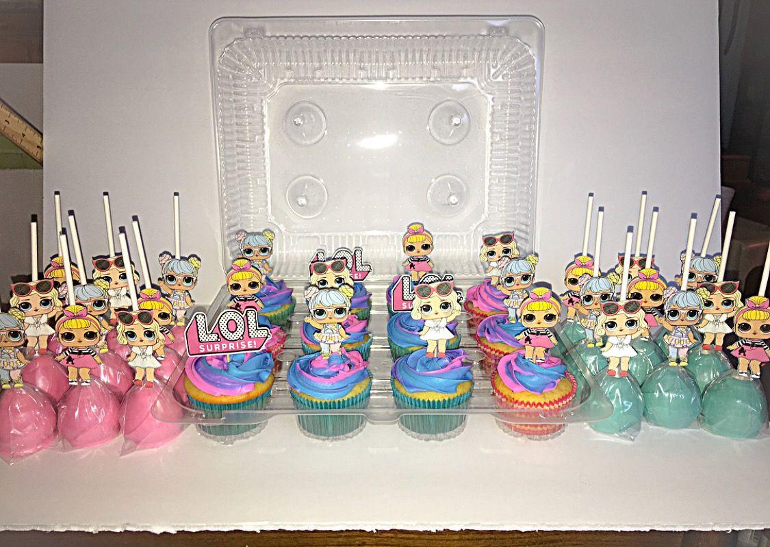 Lol Surprise Dolls Birthday Cupcakes Amp Cake Pops