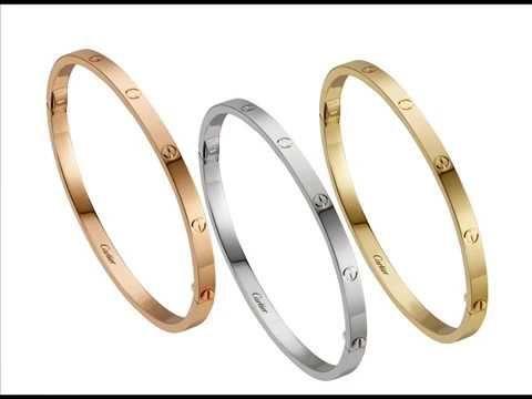 اساور كارتير الاصليه Cartier Bracelet Cartier Love Bracelet Love Bracelets Bracelets