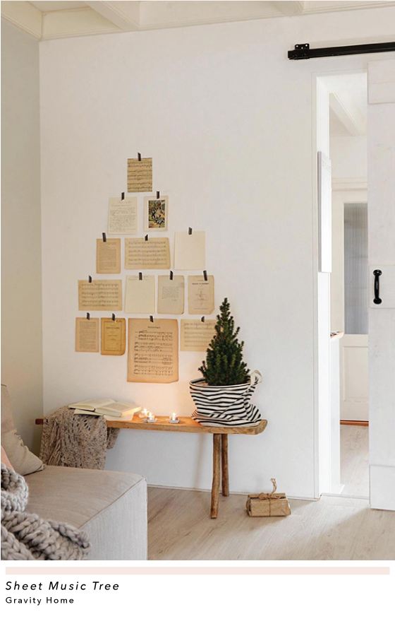 20 Alternative Christmas Trees With Images Hygge Christmas