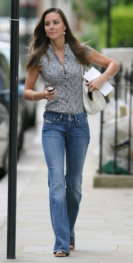 Kate Middleton In Diesel Jeans