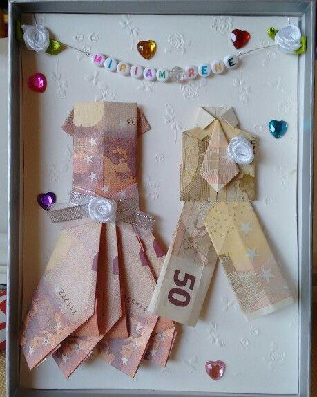 Geldgeschenk Hochzeit Geldgeschenke Pinterest Origami Gift