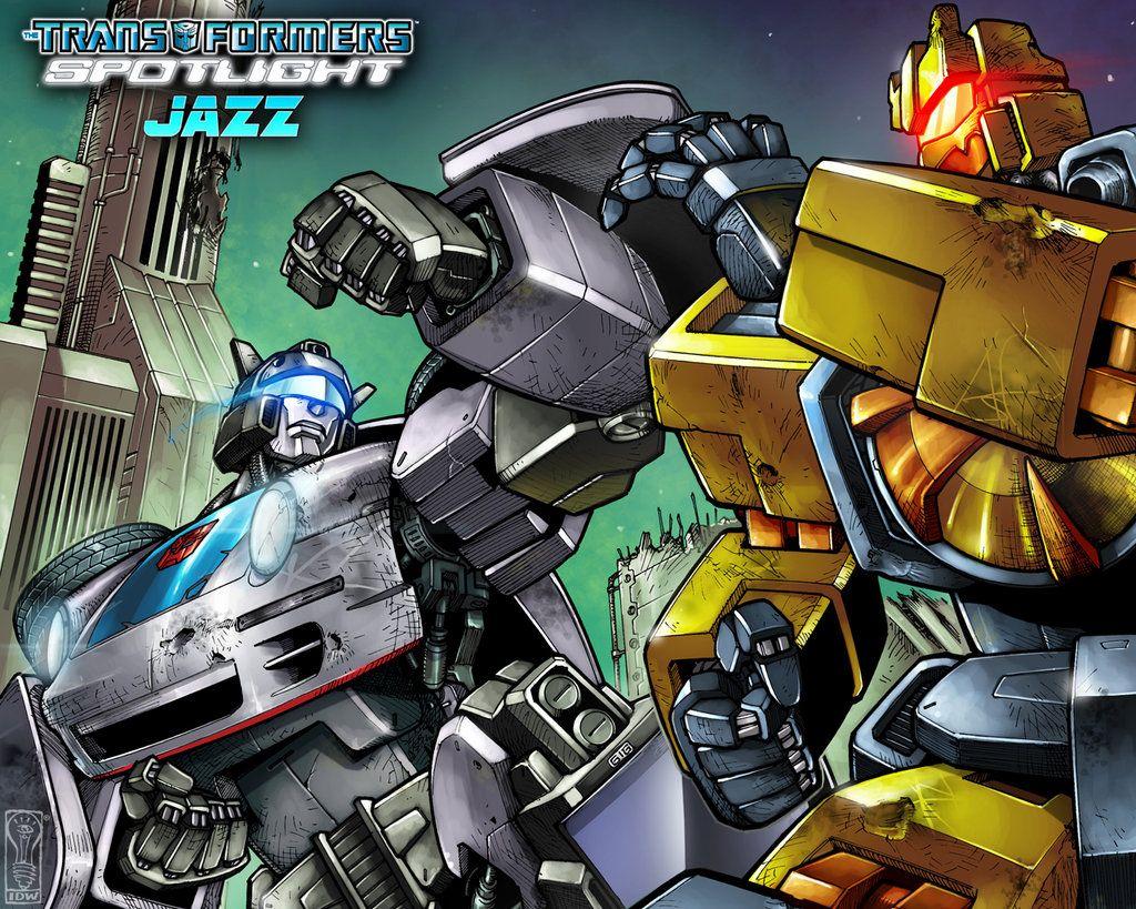 Jazz Cover A Wallpaper Transformers Transformers Jazz Transformers Comic
