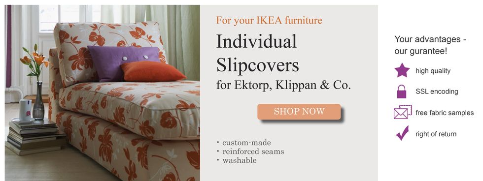 saustark design individual slipcovers for ikea furniture gutscheincode