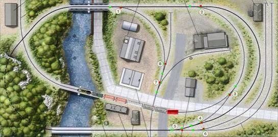 Turtle Creek Central - from Track Plan Database | ModelRailroader.com