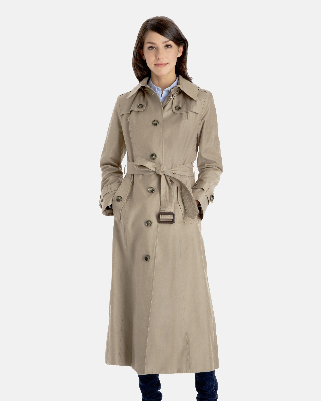 Full length trench coat women