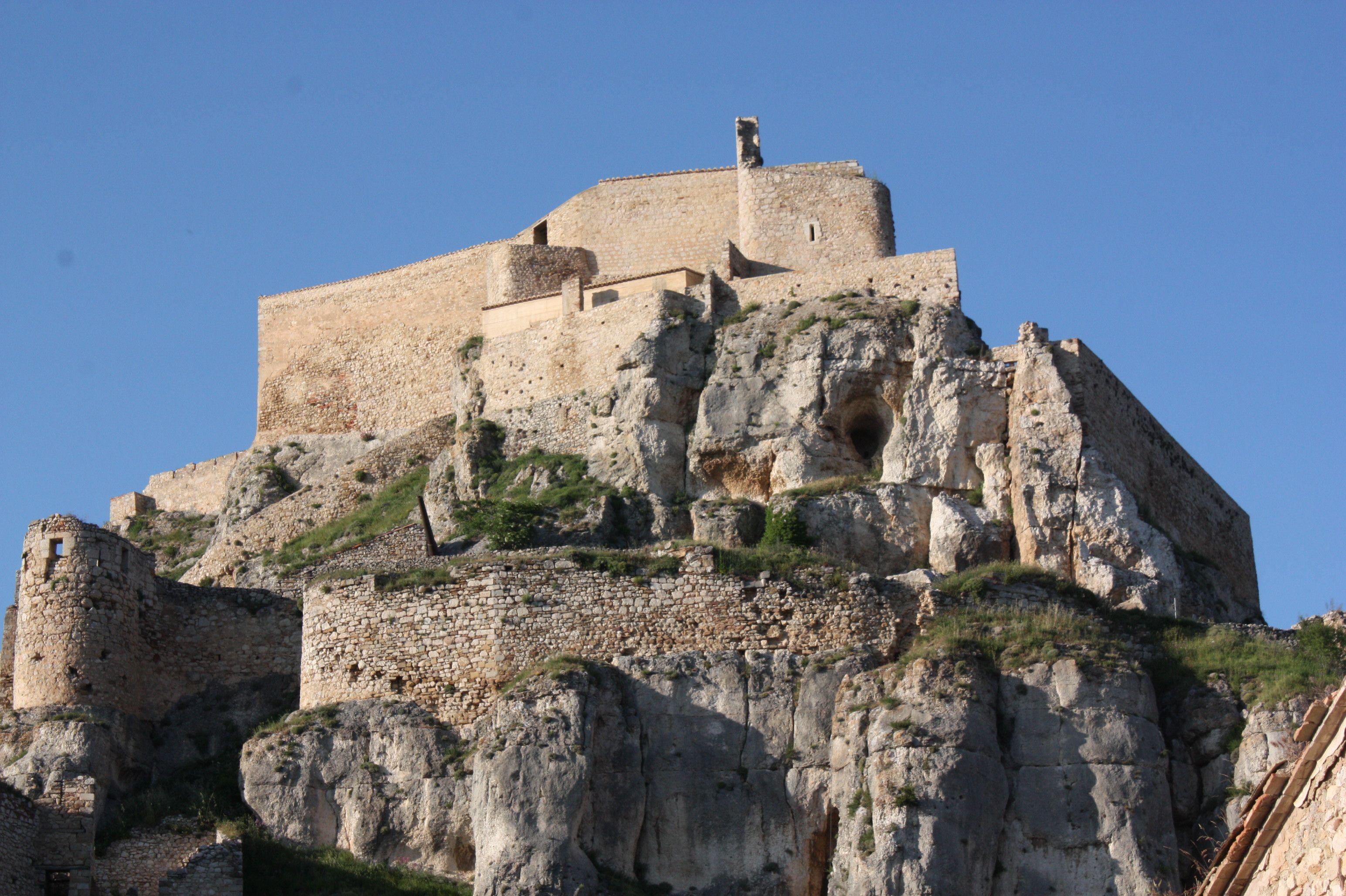Morella's castle. (Valencia)