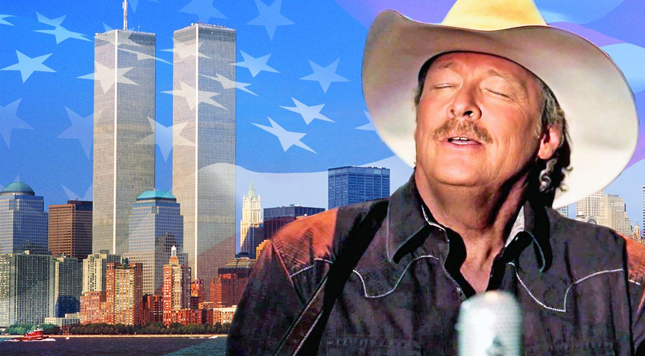 Alan Jackson Fights Back Tears In Emotional Tribute To 9 11