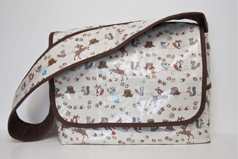 Making A Laminated Messenger Bag | Sewing | Pinterest | Bolsas de ...
