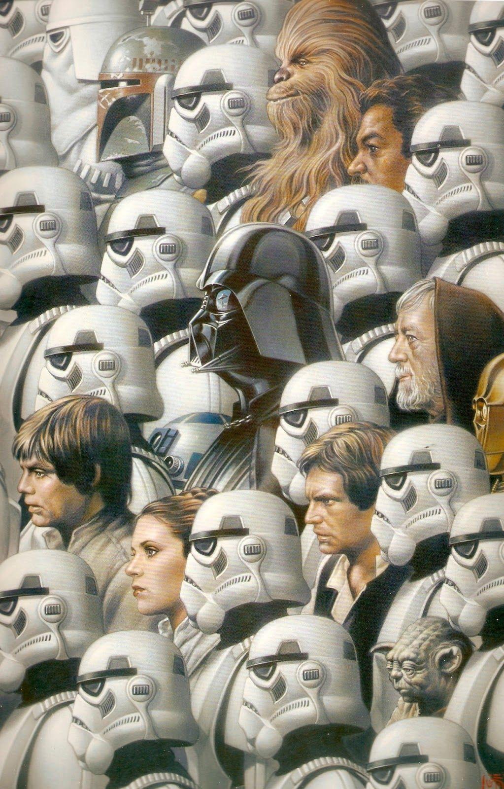 Dango \'The Incredible\' Mango: Inspirational Star Wars Illustrations ...