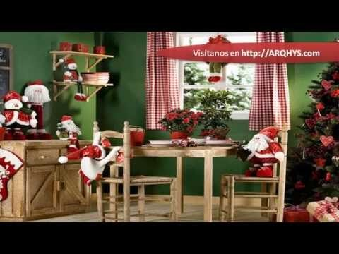 Adornar la casa en navidad - YouTube Christmas and July - Como Decorar Mi Casa