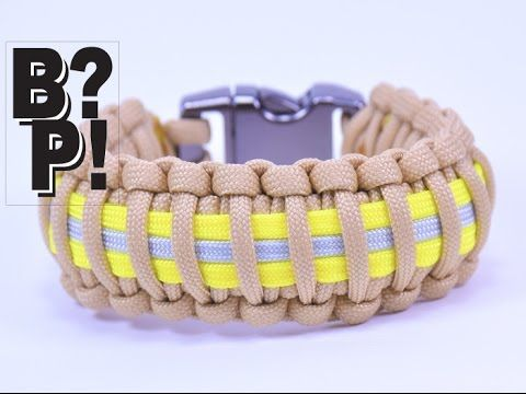 Make The Firefighter Paracord Bracelet Boredparacord Com
