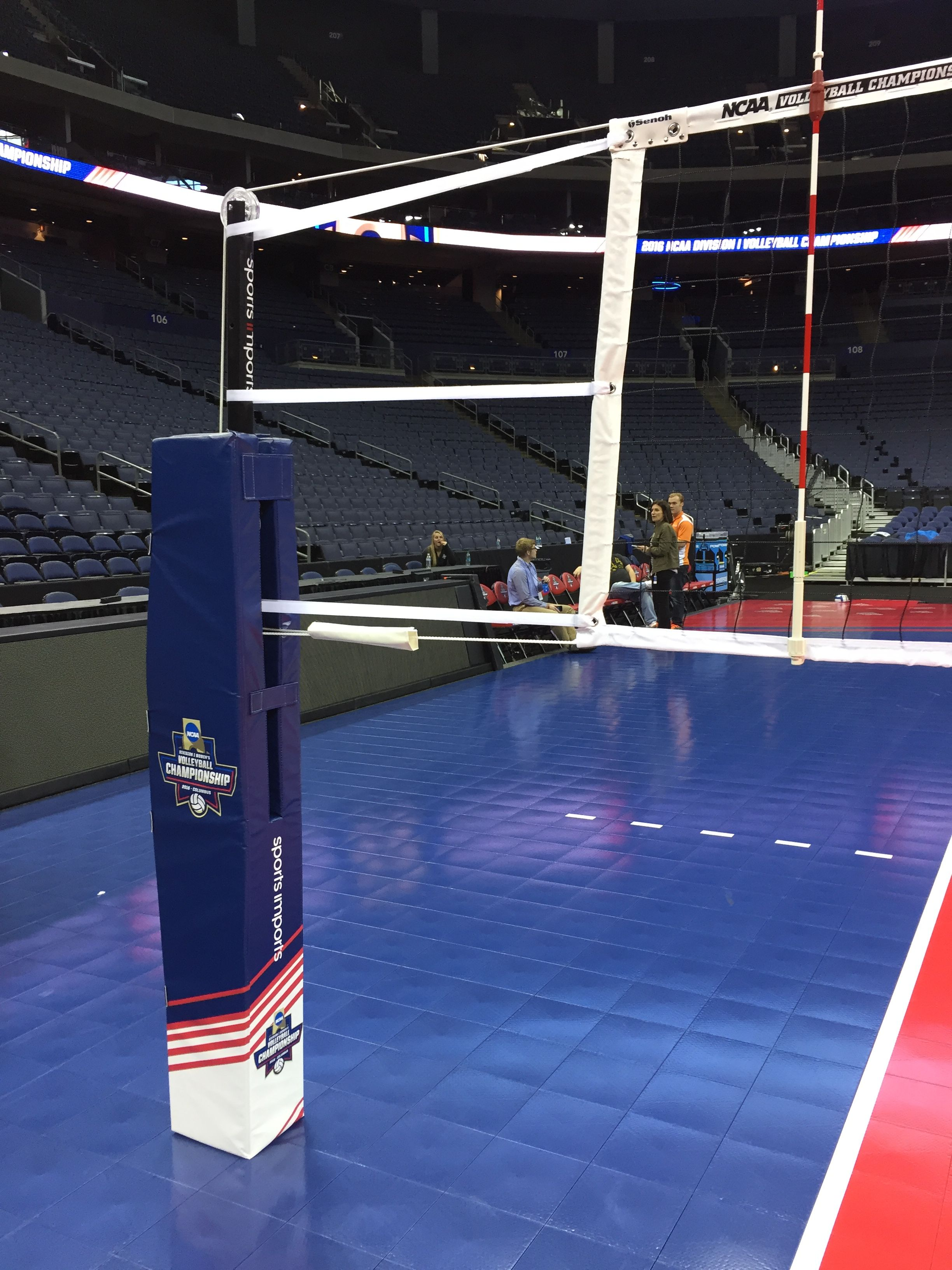 2016 Ncaa Volleyball Championship Sicarbonnation Volleyball Net Volleyball Outdoor Volleyball Net