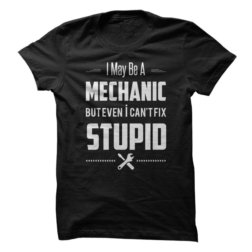 Mechanic cannot fix stupid