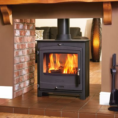 Portway 2 Double Sided Multifuel Stove From Fireplace Products Wood Burning Stove Double Sided Stove Contemporary Wood Burning Stoves