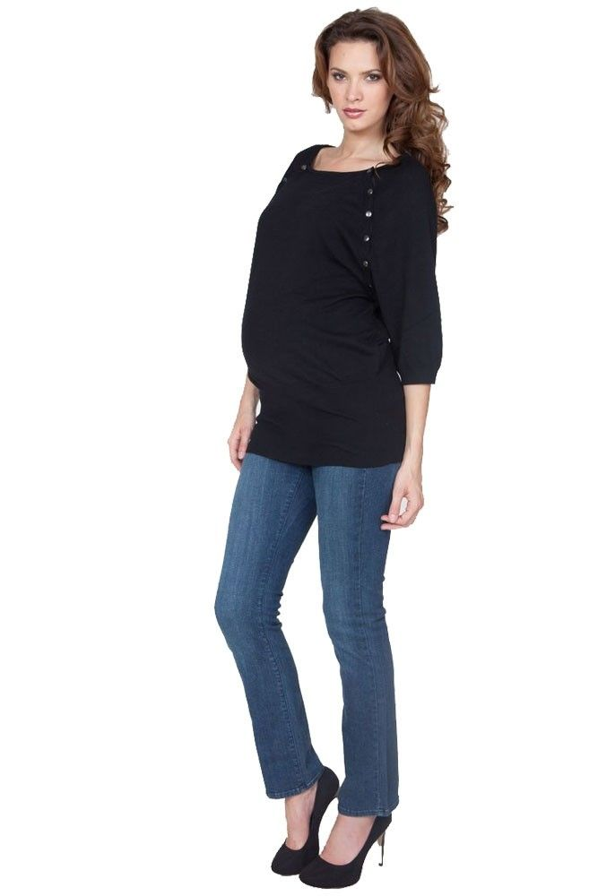 bb91c13bdc Seraphine Alexia Knitted Nursing Sweater in Black by Seraphine with free  shipping