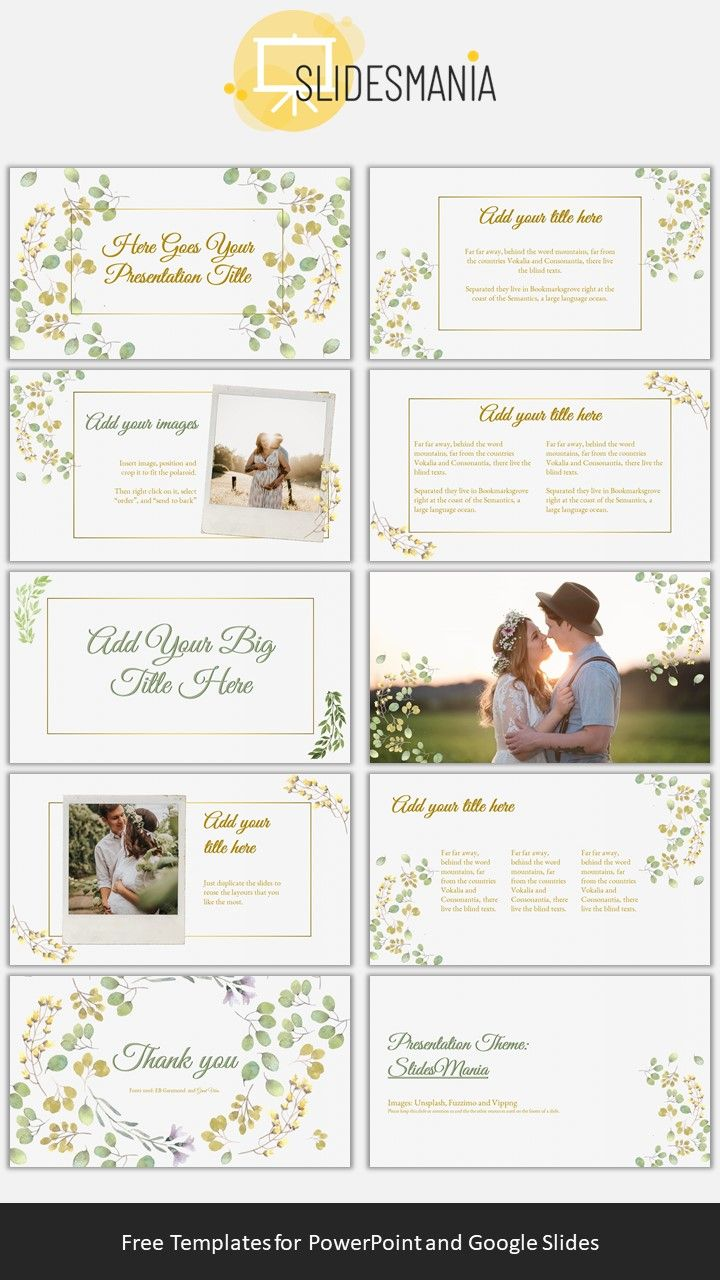 Free Celebration Template for PowerPoint or Google Slides #colorpalettecopies