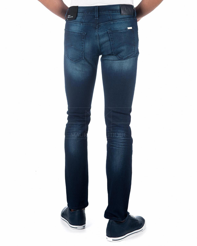 ✶ Best Jeans Dark © Denim Blue Armani Mens Price Exchange XX4Uxgq