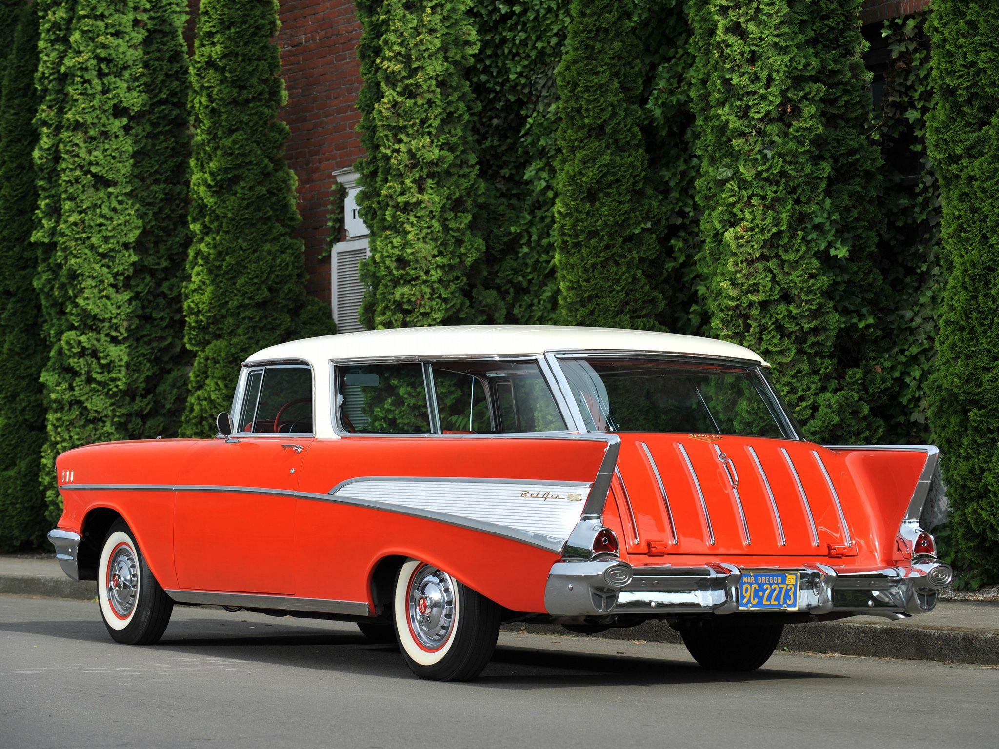 1957 Chevrolet Bel Air Nomad Classic Chevrolet Bel Air 1957