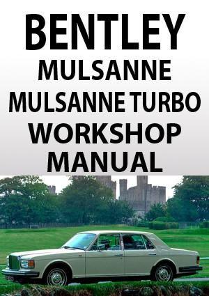 bentley mulsanne mulsanne turbo 1980 1990 workshop manual rh pinterest com bentley car manual Bentley Coupe